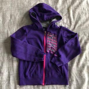 EUC Nike girls hoodie